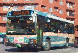 新狭山駅前バス乗り場